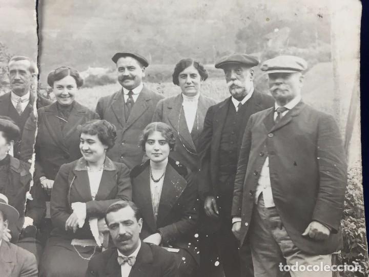 Postales: postal fotografia dividida grupo posando familia santander cantabria rasgada - Foto 6 - 105840859