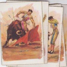 Postales: 10 POSTALES TAURINAS. Lote 106016163