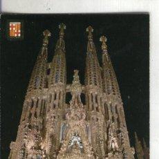 Postales: POSTAL 003705: BARCELONA: TEMPLO SAGRADA FAMILIA. Lote 103314374