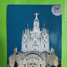 Postales: POSTAL 206 BARCELONA TEMPLO DEL TIBIDABO ESCRITA. Lote 108410288