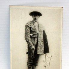 Postales: ANTIGUA FOTO POSTAL DEL TORERO VICENTE BARRERA Y CAMBRA (VALENCIA 1908-1956). SIN CIRCULAR. Lote 108437831