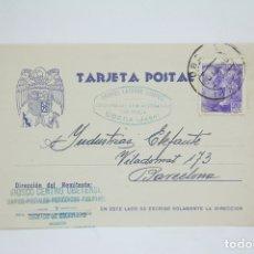Postales: TARJETA POSTAL COMERCIAL - GABRIEL LATORRE CAMPUS - CORRESPONSAL DE PRENSA - ÚBEDA, JAÉN - AÑO 1940. Lote 108864315
