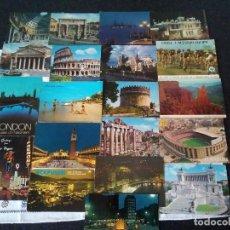 Postales: 9-LOTE DE 20 POSTALES DEL MUNDO. Lote 109005871