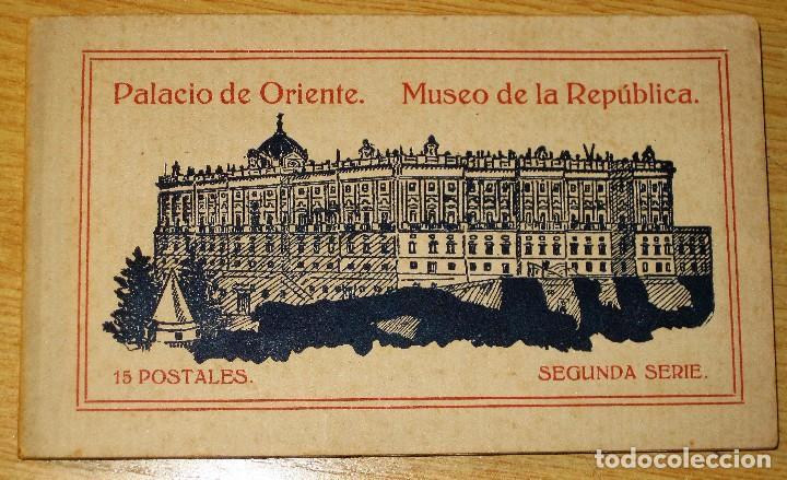 BLOCK PALACIO ORIENTE . MUSEO DE LA REPUBLICA. 15 POSTALES POSTAL 2 SERIE (Postales - Varios)
