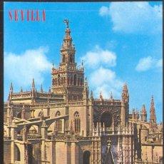 Postales: 122 - SEVILLA .- CATEDRAL Y GIRALDA. Lote 109450311