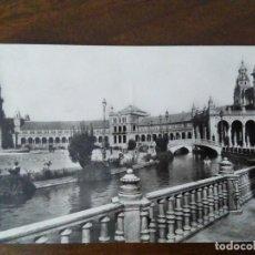 Postales: SEVILLA. PLAZA DE ESPAÑA. HELIOTIPIA ARTÍSTICA ESPAÑOLA.. Lote 109450575