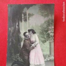 Postales: ANTIGUA POSTAL COLOREADA. ROMÁNTICA... Lote 109460747