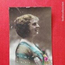 Postales: ANTIGUA POSTAL COLOREADA. ROMÁNTICA... Lote 109460915