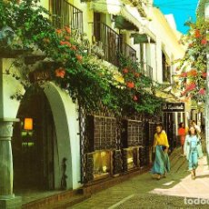Postales: MARBELLA -CALLE LA GLORIETA- SIN CIRCULAR / P-1814. Lote 109462167