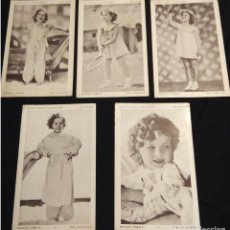 Postales: COLECCION POSTALES SHIRLEY TEMPLE. Lote 109566439