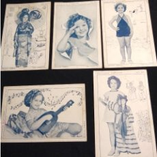 Postales: COLECCION POSTALES SHIRLEY TEMPLE. Lote 109566559