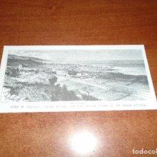 Postales: POSTAL CON GRABADO DE TENERIFE, ISLAS CANARIAS, PORTEO OROTAVA. Lote 110075975