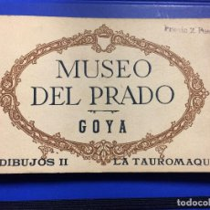 Postales: 20 POSTALES MUSEO DEL PRADO , LA TAUROMAQUIA -. Lote 110449783