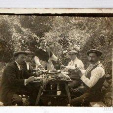 Postales: ANTIGUA FOTO POSTAL DE LOS AÑOS 30/40. PERSONAJES TIPICOS. SIN CIRCULAR. Lote 111334111