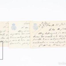 Postales: CONJUNTO TARJETAS POSTALES COMERCIALES -CIRCULO LABRADORES Y PROPIETARIOS- SEVILLA - AÑOS 1928 AL 30. Lote 111956971