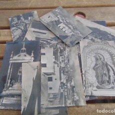 Postales: LOTE DE 16 POSTALES FOTOGRAFICAS MEDINA SIDONIA CADIZ VISTAS CALLES IMAGENES RELIGIOSAS FOTO ORTAS. Lote 112308215