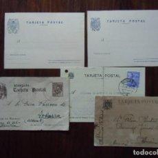 Postales: LOTE DE TARJETAS POSTALES AGUILA DE SAN JUAN,AÑOS 40 , DOS SIN CIRCULAR.. Lote 112694115
