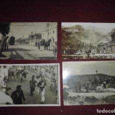 Postales: MAGNIFICO LOTE DE 96 POSTALES ANTIGUAS DE ESPAÑA TODAS DIFERENTES,SALIDA 1 EURO. Lote 113090303
