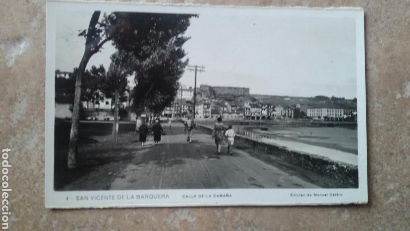 POSTAL SAN VICENTE DE LA BARQUERA (Postales - Varios)