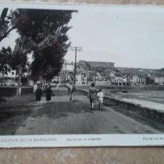 Postales: POSTAL SAN VICENTE DE LA BARQUERA. Lote 113093176