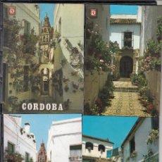 Postales: LOTE DE 8 POSTALES DIFERENTES DE PATIOS ANDALUCES DE LA LOCALIDAD DE CORDOBA. Lote 113316043