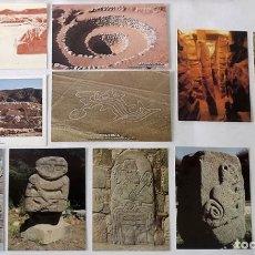 Postales: 11 POSTALES ARQUEOLÓGICAS DE PERÚ. Lote 53390843