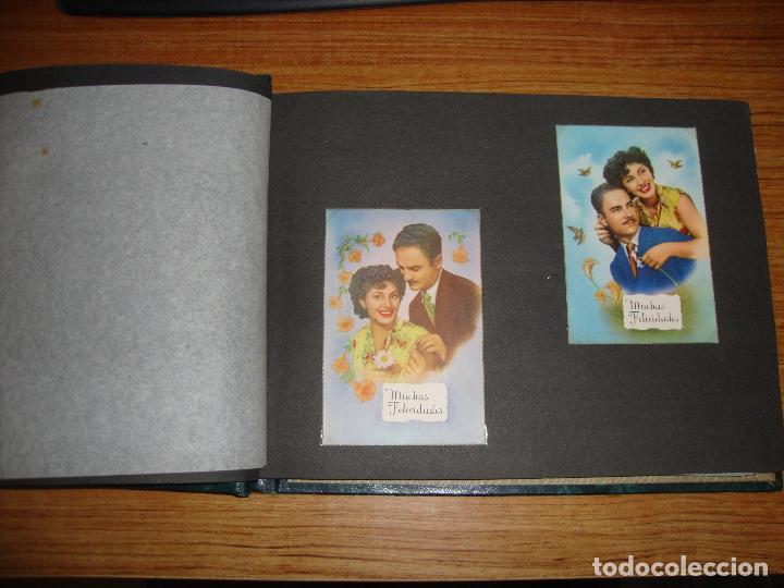 Postales: (TC-118) ALBUM CON 33 POSTALES DE ENAMORADOS PAREJAS VER TODAS - Foto 3 - 114599303