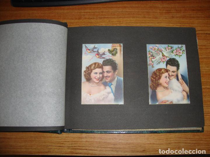 Postales: (TC-118) ALBUM CON 33 POSTALES DE ENAMORADOS PAREJAS VER TODAS - Foto 4 - 114599303