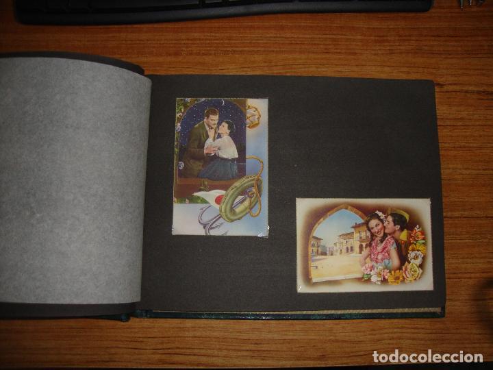 Postales: (TC-118) ALBUM CON 33 POSTALES DE ENAMORADOS PAREJAS VER TODAS - Foto 7 - 114599303