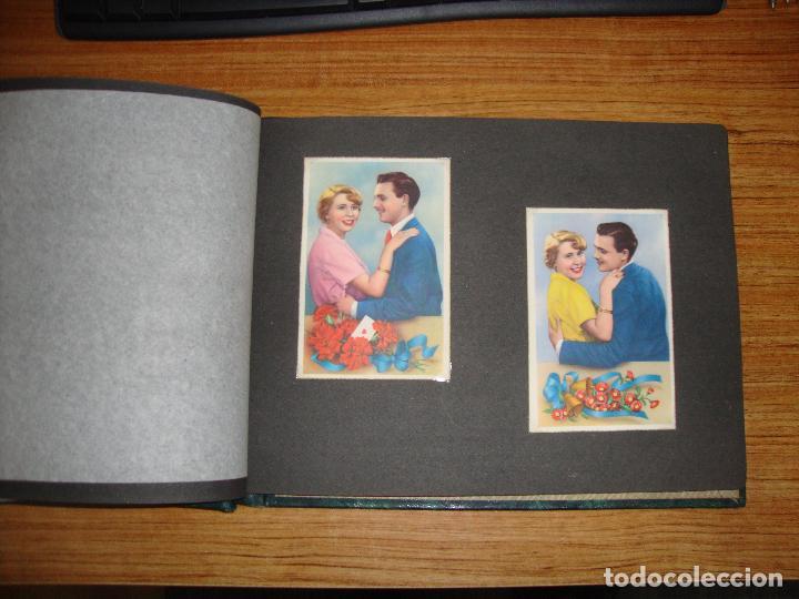 Postales: (TC-118) ALBUM CON 33 POSTALES DE ENAMORADOS PAREJAS VER TODAS - Foto 8 - 114599303