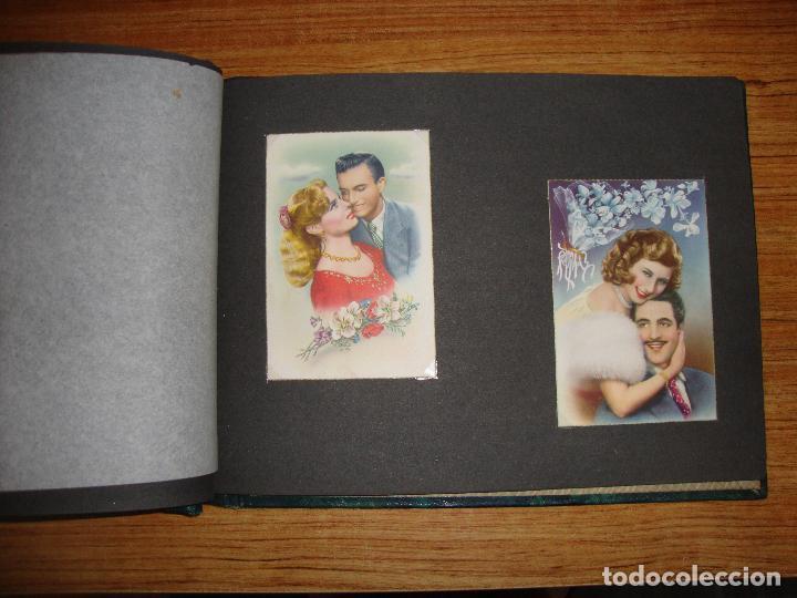 Postales: (TC-118) ALBUM CON 33 POSTALES DE ENAMORADOS PAREJAS VER TODAS - Foto 12 - 114599303