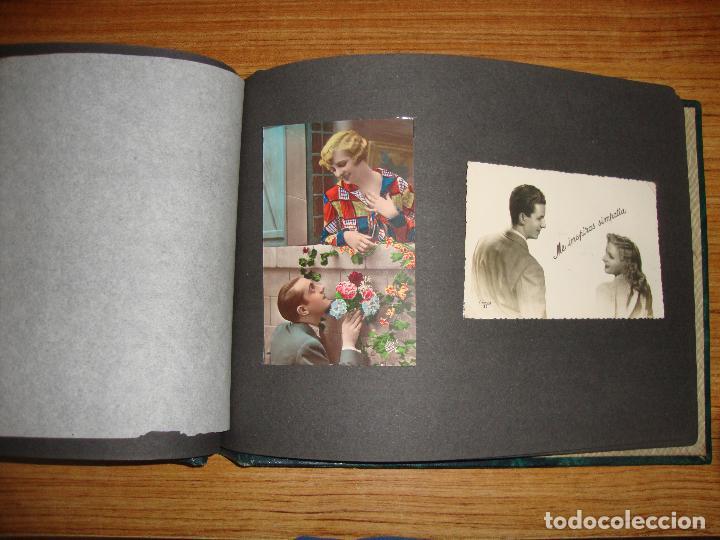 Postales: (TC-118) ALBUM CON 33 POSTALES DE ENAMORADOS PAREJAS VER TODAS - Foto 16 - 114599303