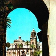 Postales: CADIZ -ARCO DE LA ROSA E IGLESIA DE SANTIAGO- (GARCÍA GARRABELLA Y CIA Nº 9) SIN CIRCULAR / P-2745. Lote 115213887