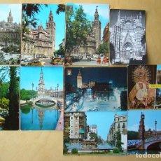 Postales: SEVILLA - LOTE 10 POSTALES DE SEVILLA. Lote 115215147