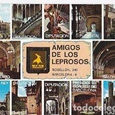 Postales: POSTAL B03825: AMIGO DE LOS LEPROSOS. BARCELONA. BARRIO GOTICO.. Lote 115237600