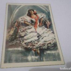 Postales: POSTAL BAILE ESPAÑOL -ALEGRIAS POR P.CLAPERA. Lote 115295419