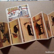 Postales: 10 POSTALES/HELIOTIPIAS DE TOROS..FIESTA NACIONAL..PPIOS XX. Lote 116721587