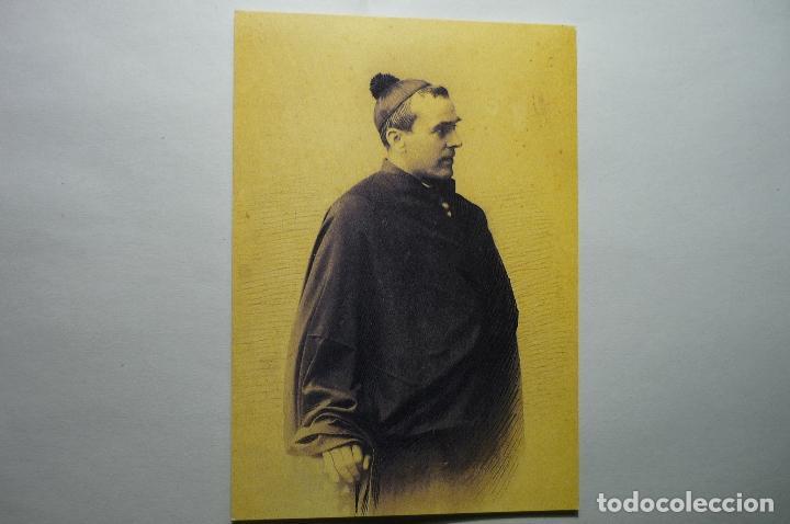 TARJETA POSTAL JACINTO VERDAGUER -RETRATO MUSEO (Postales - Varios)