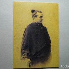 Postales: TARJETA POSTAL JACINTO VERDAGUER -RETRATO MUSEO. Lote 116802791