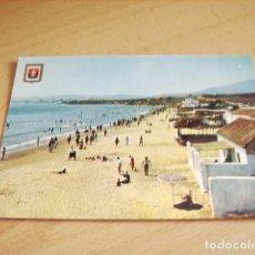 Postales: ALGECIRAS ( CADIZ ) PLAYA EL RINCONCILLO. VISTA GENERAL. Lote 119075723