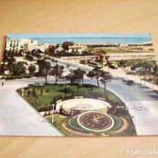 Postales: CADIZ -- PLAZA DE ESPAÑA Y RELOJ DE FLORES. Lote 119076695