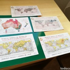 Postales: LOTE DE 5 POSTALES ANTIGUAS INSTITUTO AGRÍCOLA ALFONSO XII. Lote 120141099