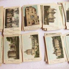 Postales: LOTE 117 POSTALES DE CASTILLOS Y CATEDRALES - COLECCIÓN DE LA SOLUCIÓN PAUTAUBERGE. Lote 120254311
