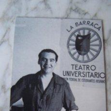 Postales: POSTAL FEDERICO GARCÍA LORCA. VEGAP 1998. FUNDACIÓN FEDERICO GARCÍA LORCA.. Lote 120337335