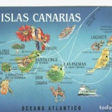 Postales: POSTAL: ISLAS CANARIAS. Lote 120347448