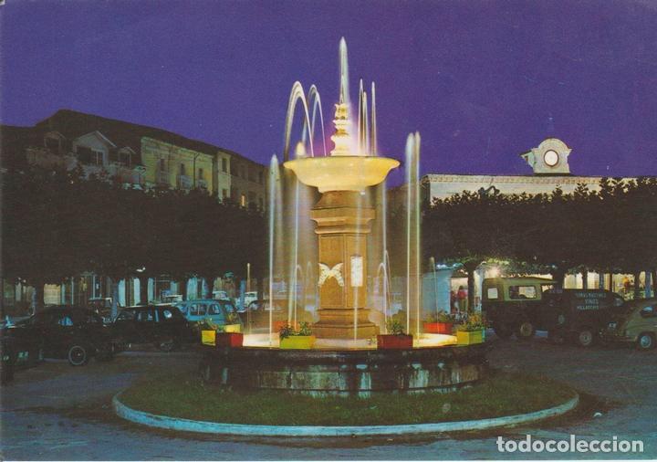 POSTAL 62678 : FUENTE LUMINOSA-PLAZA MAYOR.VILLARCAYO.BURGOS. ESPAÑA (Postales - Varios)