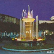 Postales: POSTAL 62678 : FUENTE LUMINOSA-PLAZA MAYOR.VILLARCAYO.BURGOS. ESPAÑA. Lote 122883116