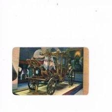 Postales: TARJETA POSTAL ESCRITA POR DETRAS LA CARROZA DE MAXIMILIANO EN EL CASTILLO DE CHAPULTEPEC MEXICO. Lote 122974943