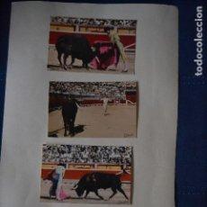 Postales: POSTALES TOROS COLOR DE FOURNIER DE 1963. Lote 122865659