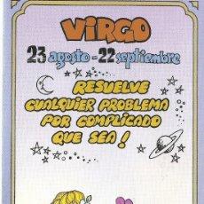 Postales: POSTAL SIGNOS DEL ZODIACO - VIRGO. Lote 124392259